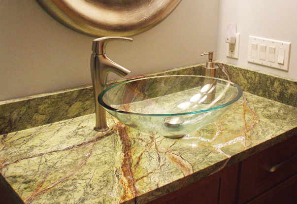 soapstone in bathroom